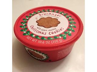 宝商事株式会社 FLYING TIGER Brunkager christmas cookies チョココーティングクッキー 300g