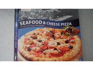 竹下 石窯焼きシーフード&チーズピザ 箱360g