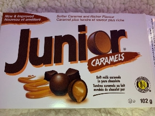 Junior caramels 102g