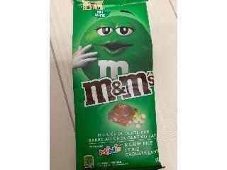 M & M クリスピーミント ミルクチョコレートバー 107g