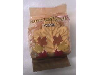 メープルリーフクリームクッキー