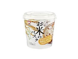 お米のパスタ きのこクリーム