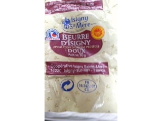 フランス産 イズニー チャーニング発酵バターAOP 食塩不使用