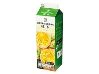 セブンプレミアム 緑茶 パック1000ml