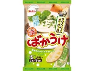 Befco ばかうけ サワークリームオニオン風味 袋2枚×9