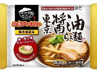 なべやき屋キンレイ お水がいらない 東京醤油らぁ麺