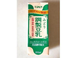 みどり 調製豆乳 パック200ml