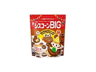 日清シスコ シスコーンBIG サクサクリング チョコ 袋165g