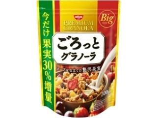 日清シスコ ごろっとグラノーラ メープル仕立ての贅沢果実 果実30%増量パッケージ 袋500g