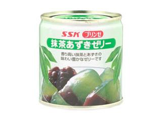 SSK プリンゼ 抹茶あずきゼリー 缶205g