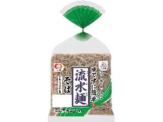 シマダヤ 流水麺 そば 袋380g