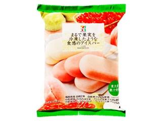 セブンプレミアム まるで果実を冷凍したような食感のアイスバー 袋50ml×6