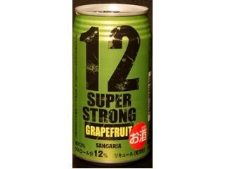 サンガリア スーパーストロング12 グレープフルーツ 缶350ml