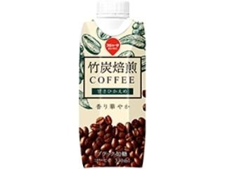 スジャータめいらく 竹炭焙煎コーヒー 甘さひかえめ パック330ml