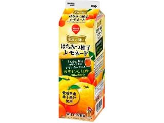 スジャータめいらく 家族の潤い はちみつ柚子レモネード パック1000ml