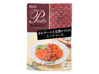ハチ パスタボーノ ポルチーニと完熟トマトのミートソース 袋140g