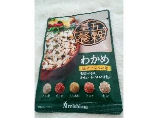 ミシマ 五穀美餐 わかめ 混ぜごはんの素 24g