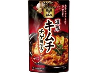 モランボン 濃厚 キムチチゲ用スープ 辛口 袋750g