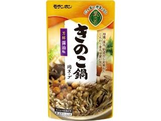 モランボン 菜の匠 きのこ鍋用スープ 芳醇醤油味 袋750g