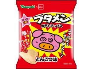 山芳製菓 ポテトチップス ブタメン とんこつ味 袋48g