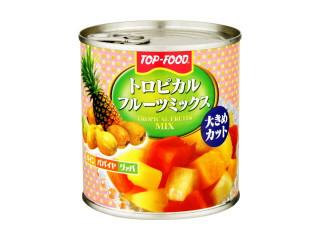 東食 トップフード トロピカルフルーツミックス 缶425g