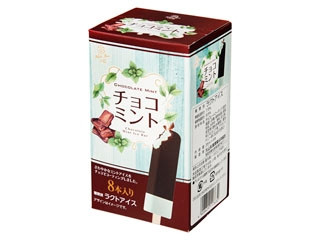 大山乳業 白バラ チョコミント 箱35ml×8
