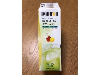 ドトール 蜂蜜とレモングリーンティー パック900g