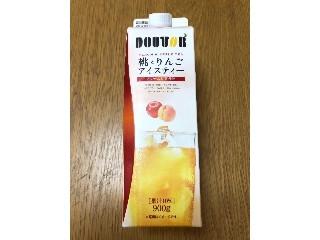 ドトール 桃とりんごアイスティー パック900g