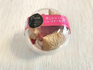わたしのしふく 苺ミルフィーユのショートケーキプリン