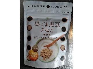 波里 黒ごま黒豆きなこwithチアシード&ココナッツシュガー 袋100g