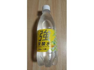 友桝 強炭酸水 レモン ペット500ml
