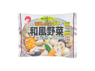 マルナカ 湯戸通しカット冷凍和風野菜 袋250g