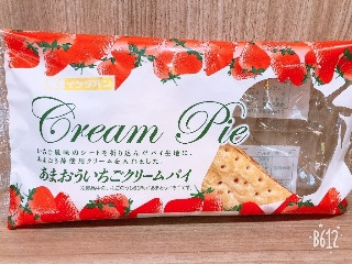 イケダパン あまおういちごクリームパイ 1個