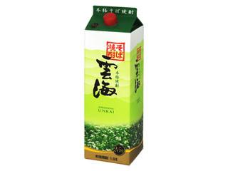雲海酒造 雲海 そば焼酎 パック1.8L