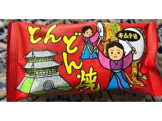 菓道 どんどん焼 キムチ味 袋13g