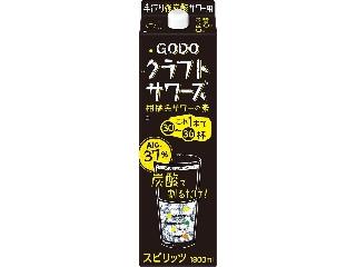合同酒精 GODOクラフトサワーズ パック1800ml