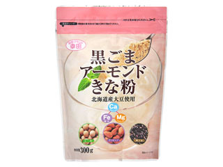 幸田 黒ごまアーモンドきな粉 袋300g