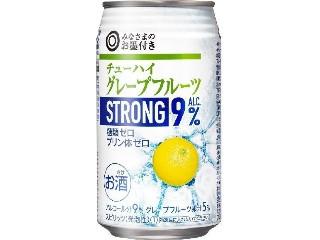 みなさまのお墨付き チューハイ グレープフルーツストロング ALC.9% 缶350ml