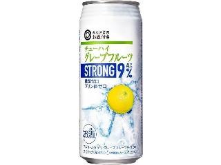 みなさまのお墨付き チューハイ グレープフルーツストロング ALC.9% 缶500ml