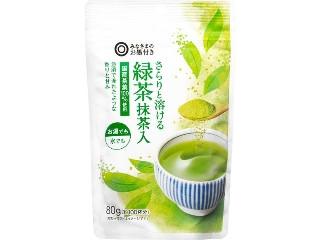 みなさまのお墨付き さらりと溶ける緑茶 抹茶入 袋80g