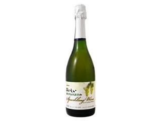 メルシャン おいしい酸化防止剤無添加 スパークリング 白 瓶720ml