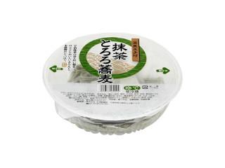 天浅製麺所 抹茶とろろ蕎麦 温泉玉子付 パック1人前