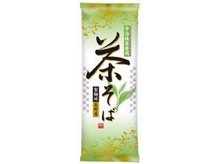 日本製粉 宇治抹茶入り 茶そば 袋200g