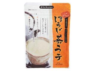 日本緑茶 ティーブティック インスタントほうじ茶ラテ 袋104g
