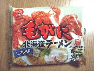みなみかわ製麺 毛がに味北海道ラーメン しお味 袋140g
