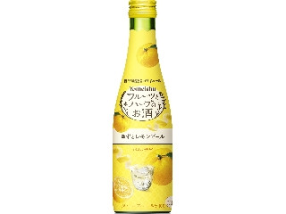 養命酒 フルーツとハーブのお酒 ゆずとレモンピール 瓶300ml