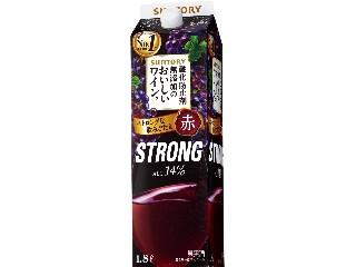 サントリー 酸化防止剤無添加のおいしいワイン。 ストロング パック1.8L