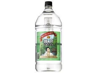 鏡月グリーン25 春限定ボトル