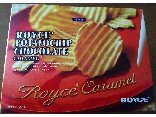 ロイズ ポテトチップチョコレート キャラメル 箱190g