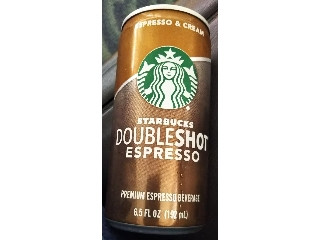 スターバックス Doubleshot Espresso&Cream 缶192ml